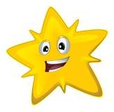 Kreskówki szczęśliwa gwiazda - ilustracja wektor