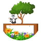 Kreskówki szczęśliwy wiewiórczy pozować Zdjęcie Royalty Free