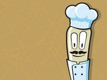 kreskówki szef kuchni kucharz śmieszny Obrazy Stock