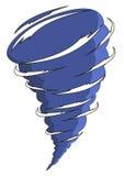 Kreskówki tornado Obrazy Royalty Free
