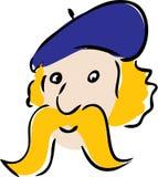 kreskówki twarz Fotografia Royalty Free