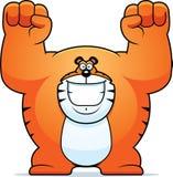 Kreskówki Tygrysia odświętność ilustracji