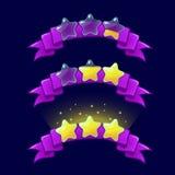 Kreskówki XP gemowe ratingowe ikony Fotografia Stock