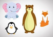 Kreskówki zwierzę royalty ilustracja