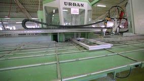 Kreskowa produkcja plastikowi okno pracująca maszyna dla manufaktury plastikowi okno zbiory wideo