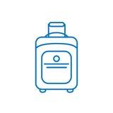 Kreskowej sztuki konturu ikony ilustracja odizolowywający szyldowy symbol, cienka linia dla sieci, nowożytny minimalistic płaski  Obraz Royalty Free