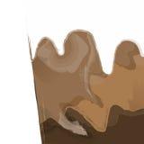 Kreskowej sztuki projekta kolorystyki strony kawa espresso strzelał kawę Obrazy Stock