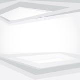 Kreskowy biel przestrzeni tło Obraz Royalty Free