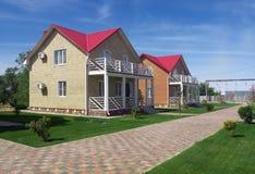 Kreskowy chałupa kurortu Elton Volgograd region Zdjęcia Stock