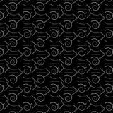 Kreskowy czarny i biały Zdjęcia Stock