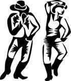 Kreskowy kraju taniec Zdjęcia Royalty Free