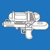 Kreskowy wodnego pistoletu przedmiota projekt dla lata Obraz Stock