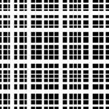 Kreskowy wzór, abstrakcjonistyczny tło, czarny i biały Fotografia Royalty Free