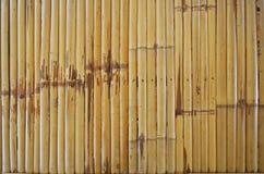 Kreskowy wzór bambusowi laths Zdjęcie Stock