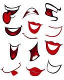 Kreskówek usta Fotografia Stock