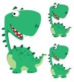 kreskówka Dino śmieszny Obrazy Stock