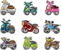 kreskówka motocykl Obraz Royalty Free