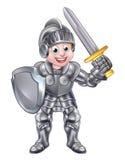 Kreskówka rycerza chłopiec Fotografia Stock