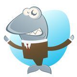 Biznesowy rekin Fotografia Royalty Free