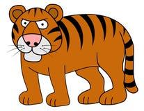 Kreskówka tygrys Zdjęcia Stock