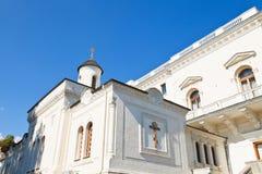 Krestovozdvizhenskaya Church of Livadiya Palace Stock Photography