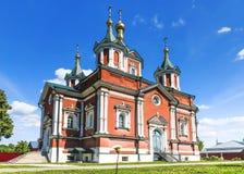 Krestovozdvizhensky Cathedral of the Assumption of the Brusensky Royalty Free Stock Photography