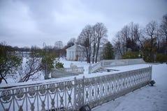 Krestovsky海岛在圣彼德堡 库存图片
