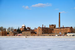 Kresty prison in St. Petersburg Royalty Free Stock Image