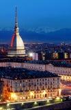 kret antonelliana Turin Obraz Stock