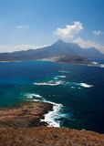 Kreta-Ansicht stockfotografie