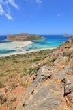 Kreta, Balos Royalty-vrije Stock Foto