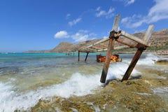 Kreta Balos Arkivbilder
