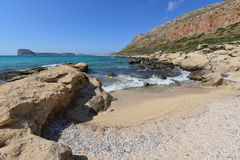Kreta, Balos Royalty-vrije Stock Foto's
