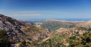 Kreta-Berge Stockfotografie