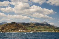 Kreta bij kissamos Royalty-vrije Stock Fotografie