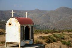 Kreta/Denkmal Stockbild