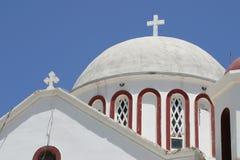 Kreta/Kerk van Sitia Stock Foto