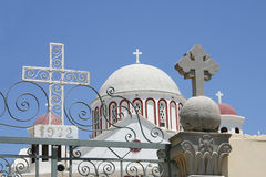 Kreta/Kerk van Sitia Stock Afbeelding
