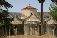 Kreta/Panagia Kera Royalty-vrije Stock Foto's
