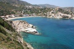 Kreta-Schacht Stockbild