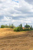 Kreta Senesi (Toscanië, Italië) Royalty-vrije Stock Afbeelding