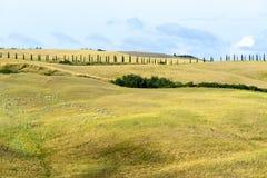 Kreta Senesi (Toskana, Italien) Lizenzfreie Stockfotos