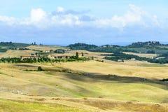 Kreta Senesi (Toskana, Italien) Stockfotografie