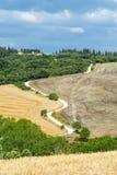 Kreta Senesi (Tuscany, Italien) Arkivbilder