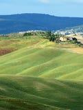 Kreta Senesi (Tuscany, Italien) Royaltyfria Bilder