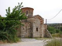 Kreta - St Dimitry Kerk Stock Fotografie