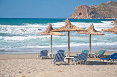 Kreta-Strand Stockbilder