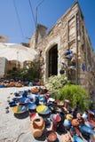 Kreta-Tonwarensystem Stockbild