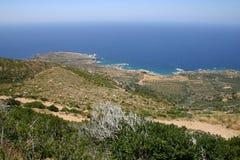 Kreta/Westcoast Stockfotografie