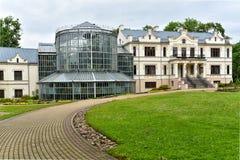 Kretinga muzeum i ogród botaniczny, Lithuania obrazy royalty free